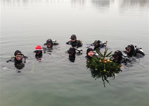 Christbaumversenken 22.12.2012