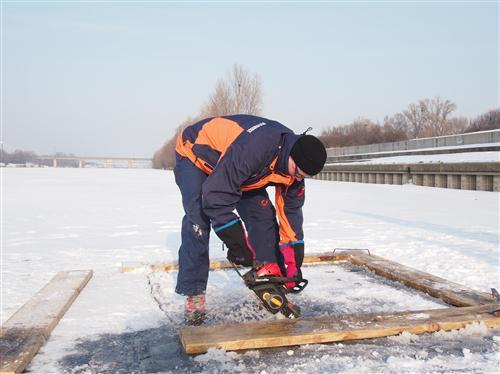 Eistauchen 11.02.2012